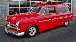 1953 Ford Custom Street Rod Surf Wagon 5.0 FI V8