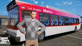 GTA 5 TREVOR'S LIFE #2-CITY BUS DRIVER JOB