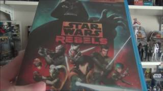 Star Wars Rebels Season 2 Blu-Ray Unboxing and Review