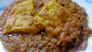 Omelette Curry in (Bengali Style)