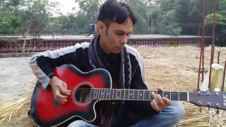 Shei tumi ( Ayub Bacchu ) acoustic cover by Suman Bairagi.