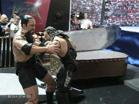 WWE Toys in Motion WTM Bigshow VS the Undertaker Casket Match