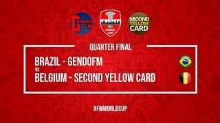 Brazil vs Belgium | GendoFM vs SecondYellowCard | Football Manager 2018 | #FMWorldCup