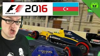DIE HASSSTRECKE | Aserbaidschan 1/2 🎮 F1 2016 #72