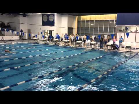 100 yd breaststroke Mitchell Moore