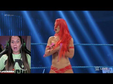 WWE Smackdown EVA MARIE Wardrobe Malfunction