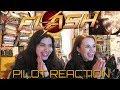 THE FLASH PILOT REACTION