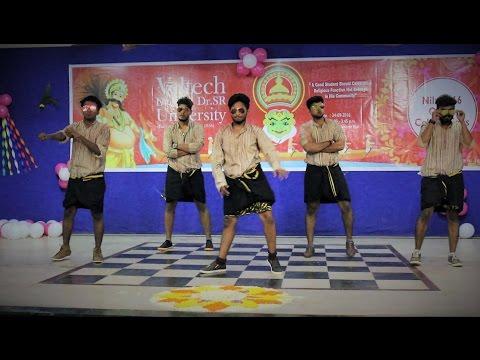 Best Mallu Kerala funny dance | veltech Mechanical boys| 4th yr Onam 2k16