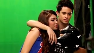 Nadine Lustre & James Reid -: mvshoot Sweet moments! PARA PARAAN- (fr Talk Back and You're Dead)