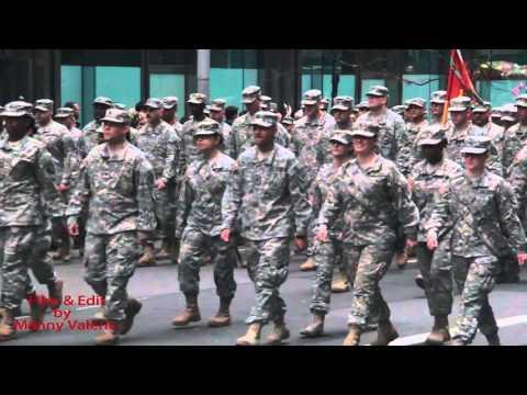 watch VETERAN DAY PARADE NYC US ARMY AND MARINES