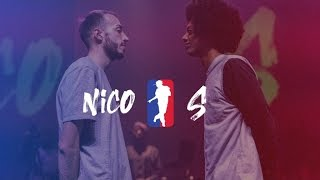 NICO vs S | I LOVE THIS DANCE ALL STAR GAME 2016