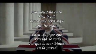 Writing's  On  The Wall -  Sam Smith  (James  Bond  Theme  Song) Subtitulada español  lyrics