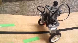 Remote controlled segway insane jump (NXT lego)