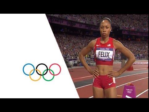 Allyson Felix Wins 200m Gold - London 2012 Olympics