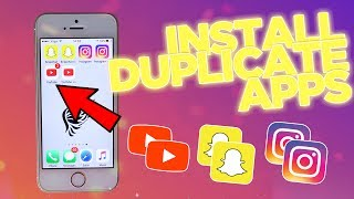 NEW* Install DUPLICATE APPS iOS 10 - 10.3 (No Computer / No Jailbreak)