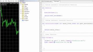 كورس تعليمي بالفيديو للـ MQL4. الفصل الاول : الدرس الاول : لماذا ندرس MQL4 و كيف يمكن الاستفادة منها