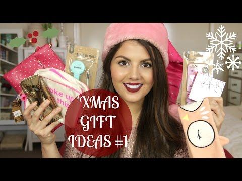 Christmas Gift Ideas #1 // Beauty, Tech, Stocking Stuffers