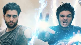 Ice Wizard vs Electro Wizard - Clash Royale Real Life