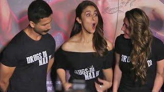 OMG : Shahid Kapoors Shocking Comment ON Kareena Kapoor in Udta Punjab Trailer Launch