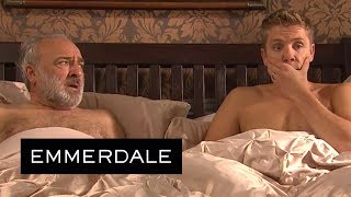 Emmerdale - Robert Makes Lawrence Believe They Slept Together!