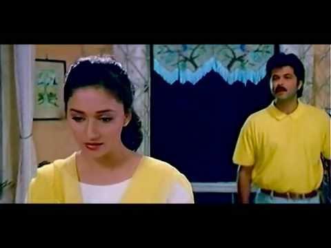 Madhuri Dixit , Anil Kapoor  in Parinda......TUMSE MIL KE.