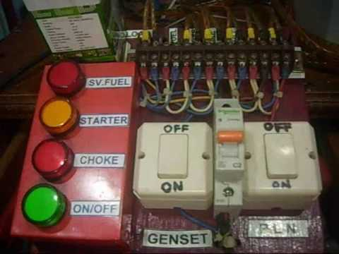 Demo AMF, ATS Genset PLN, Type MGMC Stdx xxx-1