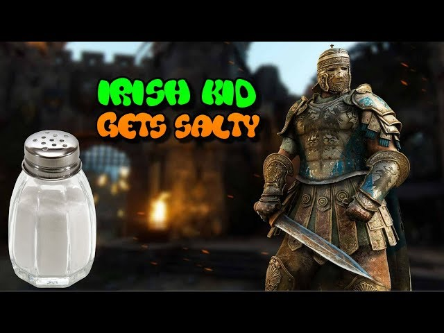 Irish Kid Gets Salty After Trash Talking on For Honor