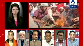 ABP News debate l Are Muslims converted to Hinduism in Agra illegal migrants from Bangladesh?