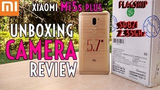 Xiaomi Mi5s Plus UnboXing & Camera Review! Mi 5S Christmas Special Edition!