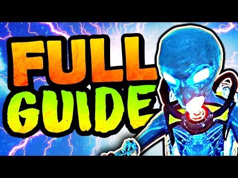 ULTIMATE ZOMBIES IN SPACELAND EASTER EGG GUIDE! EASY INFINITE WARFARE ZOMBIES EASTER EGG TUTORIAL