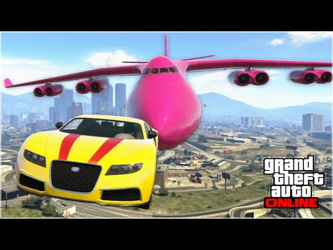 AWESOME GTA 5 STUNTS & FAILS Funny Moments Compilation