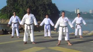 Tachi Kata, as principais bases do Karate Shorin-Ryu Shin Shu Kan