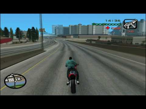 GTA Vice City [PC] - San Andreas Map in Vice City Mod (HD)