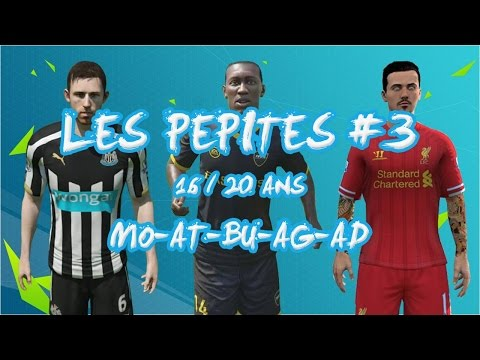 Carriere FIFA 16 #EP3 : Les pépites ( AT, AG, AD, BU )
