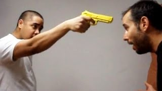 Having a Gun Pointed to your Head