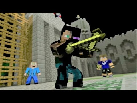 Minecraft Song Castle Raid Minecraft Animation by Minecraft Jams