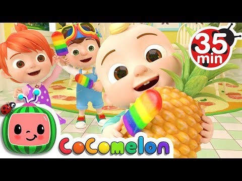Color Song (Ice Pop)   +More Nursery Rhymes - Cocomelon
