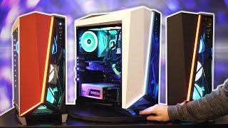 NEW Corsair Cases, Cooler, Keyboard & Mouse!