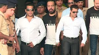 Relieved Salman Khan Spotted At Mumbai Airport After Court Frees Him From Arms Act Case In Jodhpur