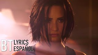 Demi Lovato - Confident (Lyrics + Español) Video Official