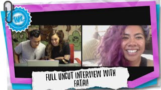 Full Uncut Interview with Fatai! | What Now