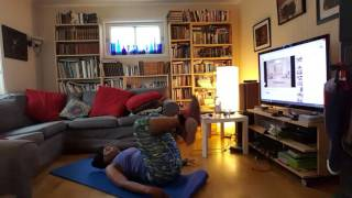 Weight loss journey day 5 : Jillian Michaels 30 day shred level 1