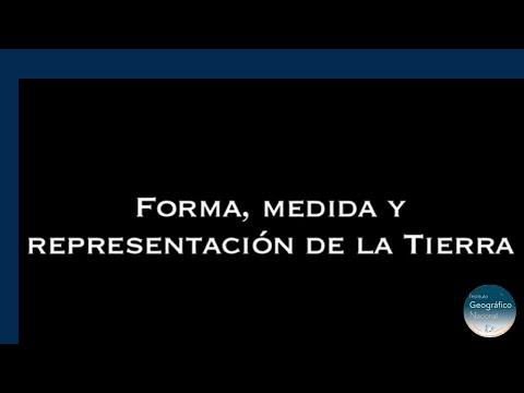 Forma Medida y Representación de la Tierra