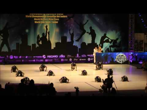 World championship junior girl formations, Zielona Gora, 17.11.'12.