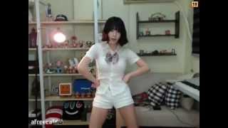 BJ이설 교복입고 위아래 섹시댄스 korean girl sexy dance