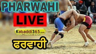 Pharwahi (Barnala) Kabaddi Tournament 02 Jan 2017 (Live)