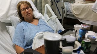 MY MOM ALMOST DIED!