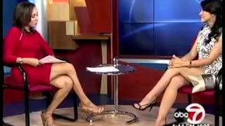 KVIA ABC 7 Interview of Bloodsucking Bastards Actress Yvette Yates 2015