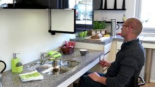 La cucina per tutti - la cucina adattabile. Per bambini, persone in carrozzina, o esigenze diverse