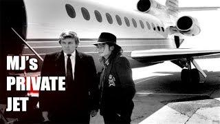 ABANDONED Michael Jacksons Millionaire Private Jet (His Stuff Inside) REACTION